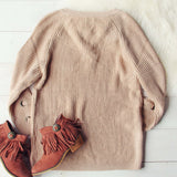 Stevie Lace-Up Sweater: Alternate View #4