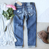 Stitch & Patch Boyfriend Jeans: Alternate View #4