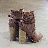 Stitch & Stone Booties: Alternate View #3