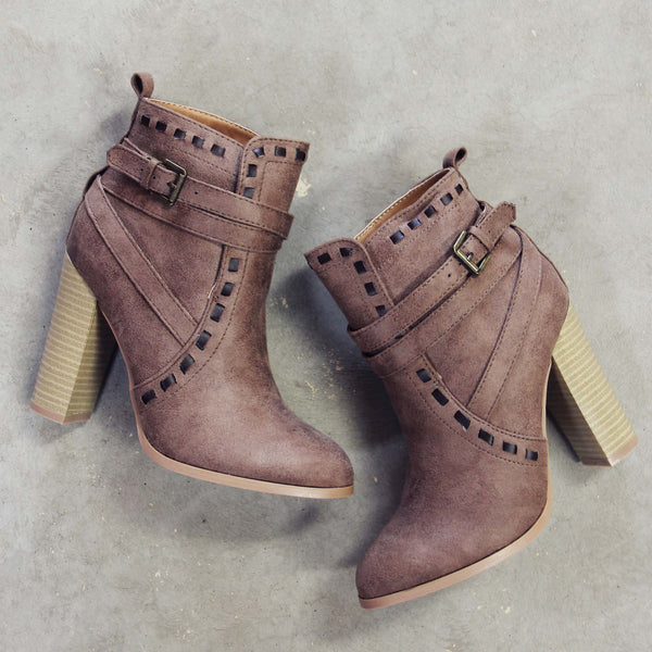 Stitch & Stone Booties: Featured Product Image
