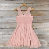 Stone Spell Beaded Dress in Dusty Pink: Alternate View #4