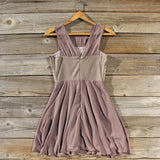 Stone Spell Beaded Dress in Dusty Taupe: Alternate View #4