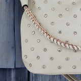 Stormy Skies Studded Tote in Sand: Alternate View #2