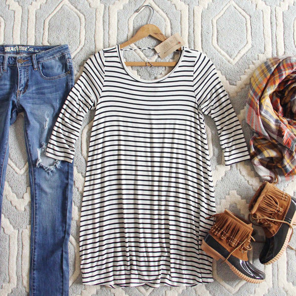 The Stormy Stripe Tunic: Featured Product Image