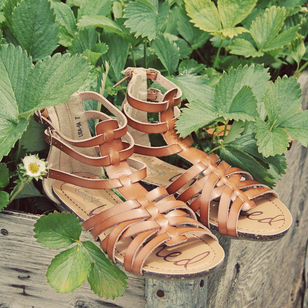 Shadow Vine Sandals: Featured Product Image