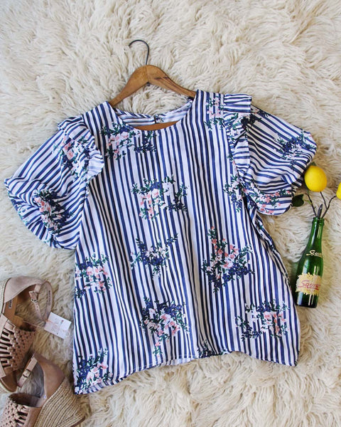 Bunches Stripe Blouse: Featured Product Image