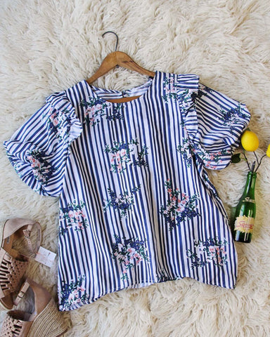 Bunches Stripe Blouse
