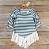 The Striped Babe Tee: Alternate View #1