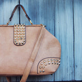 Studded Dusk Tote in Toffee: Alternate View #2