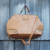 Studded Dusk Tote in Toffee: Alternate View #3
