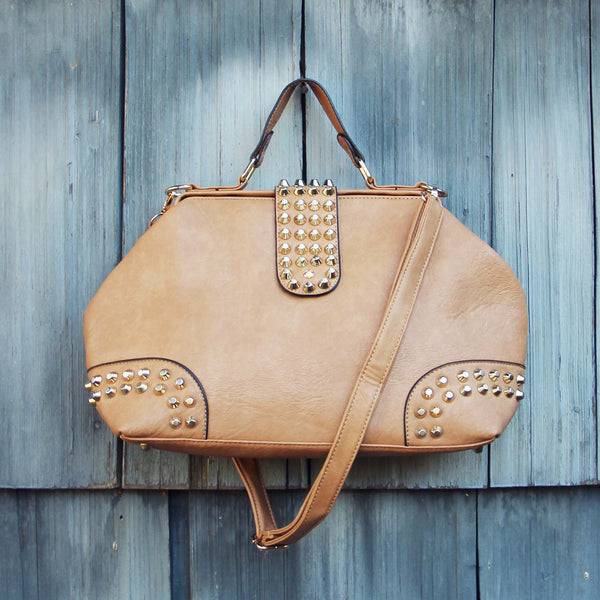 Studded Dusk Tote in Toffee: Featured Product Image