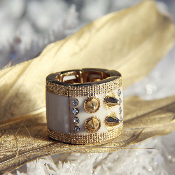 Studs & Stones Ring: Featured Product Image