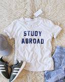Mother Denim Brand Study Abroad Tee: Alternate View #3
