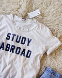 Mother Denim Brand Study Abroad Tee: Alternate View #4