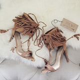 Sugar Fringe Heels: Alternate View #1