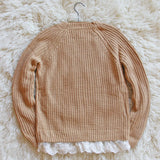 The Sugar Pine Lace Sweater: Alternate View #4