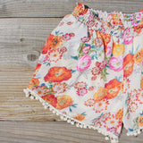 Sugared Marigold Shorts: Alternate View #2