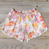 Sugared Marigold Shorts: Alternate View #3