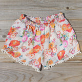 Sugared Marigold Shorts: Alternate View #1