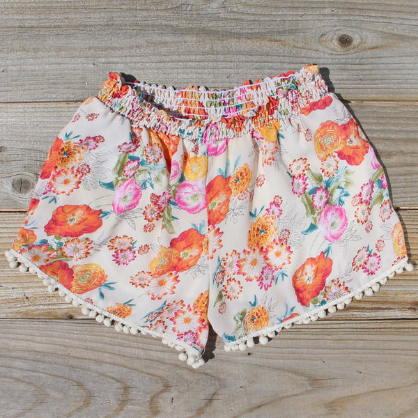 Sugared Marigold Shorts: Featured Product Image