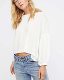 Free People Sugar Rush Tee in White: Alternate View #3