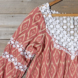 Sugared Breeze Blouse in Desert Ikat: Alternate View #2