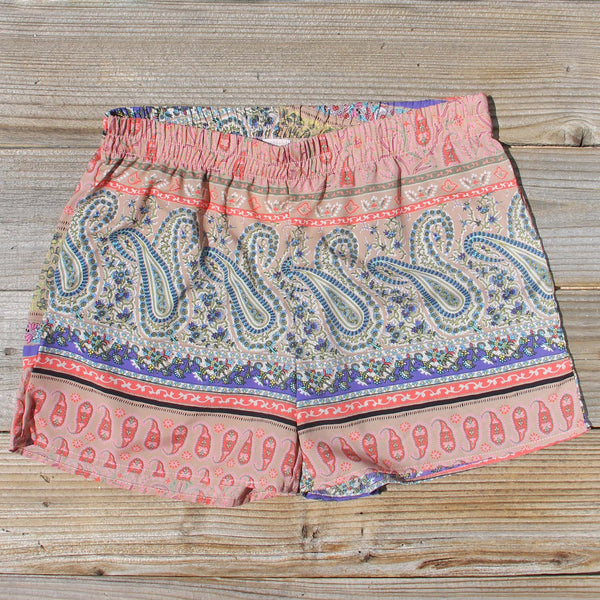 Sugared Cactus Shorts: Featured Product Image