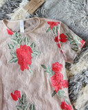 Sugared Rose Layering Tunic: Alternate View #2