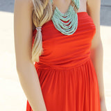 Summer Cabana Maxi Dress: Alternate View #2