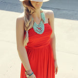 Summer Cabana Maxi Dress: Alternate View #1