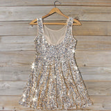 Summer Gold Dress: Alternate View #4