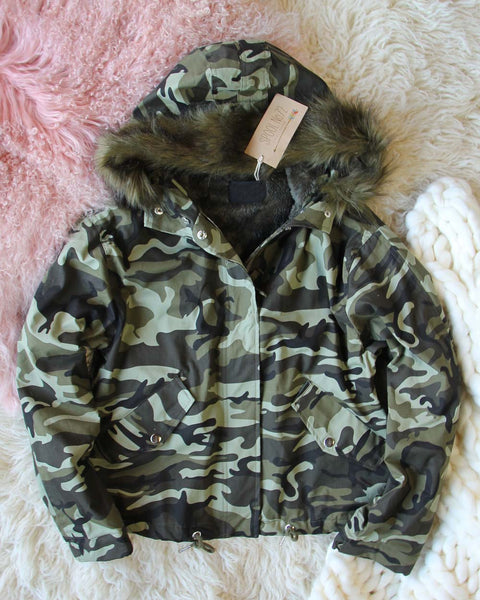 Summit Camo Coat: Featured Product Image