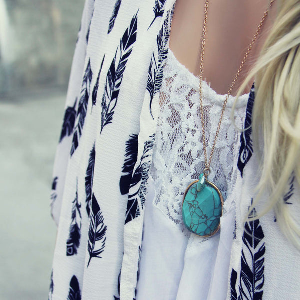 Sun Tide Necklace: Featured Product Image