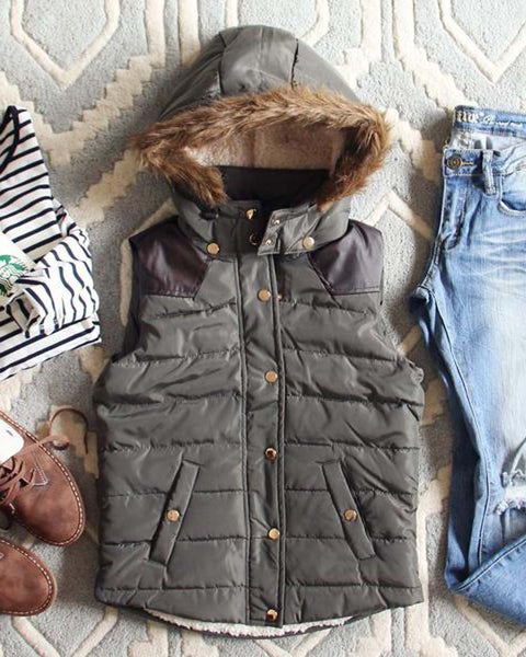 Suncadia Hooded Vest: Featured Product Image
