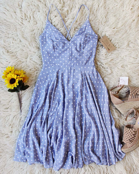 Sunflower Dress in Blue: Featured Product Image