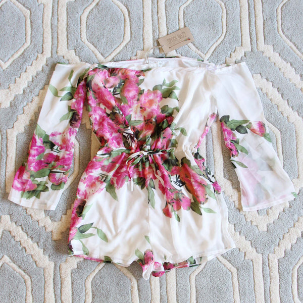 Sunkissed Romper: Featured Product Image