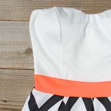 Sunset Chevron Dress: Alternate View #2