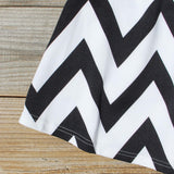 Sunset Chevron Dress: Alternate View #3