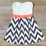 Sunset Chevron Dress: Alternate View #4