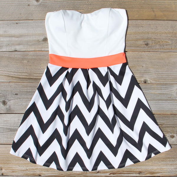 Sunset Chevron Dress: Featured Product Image