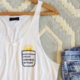 Sunshine in My Pocket Tee: Alternate View #2