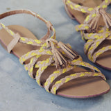 Sunstone Braided Sandals: Alternate View #2