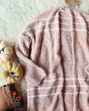 Sutton Cardigan Sweater in Blush: Alternate View #2