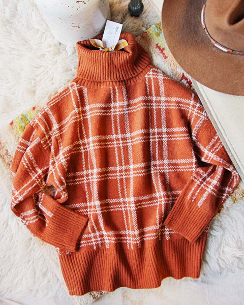 Swedish Plaid Sweater: Featured Product Image