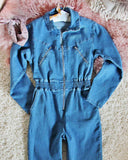 Sweet 70's Coveralls: Alternate View #1