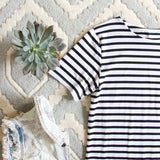 Sweet & Basic Stripe Dress: Alternate View #2