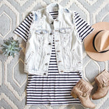 Sweet & Basic Stripe Dress: Alternate View #4