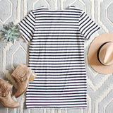 Sweet & Basic Stripe Dress: Alternate View #3