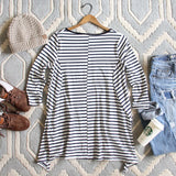 Sweet & Basic Stripe Tee: Alternate View #4