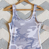 Sweet Camo Dress: Alternate View #2